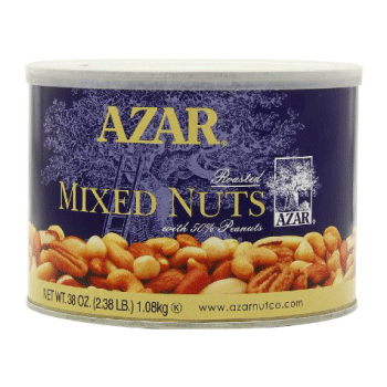 Mixed Nuts, Azar Products, Distribution
